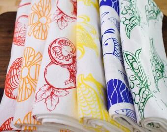 Mix & Match | Tea Towel | Kitchen Towel | Dish Towel | Flour Sack Kitchen Towel