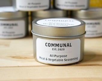 Communal Meat & Vegetable Seasoning   Flavorful All Purpose Seasoning
