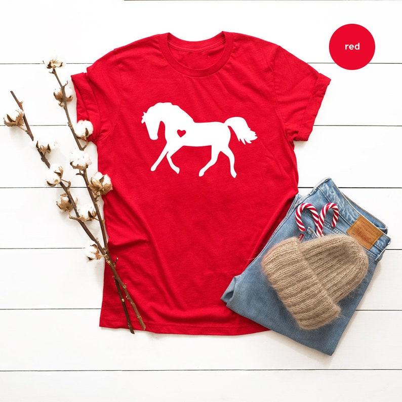 Horse Lover Shirt, Horse Lover T Shirt, Horse With Heart Tee, Horse T Shirts, Horse Lover Gift, Vet Shirt, Gift For Horse Lover, Horse Tee Sweatshirt