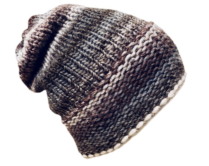 Lightly Brushed Pebble Beanie