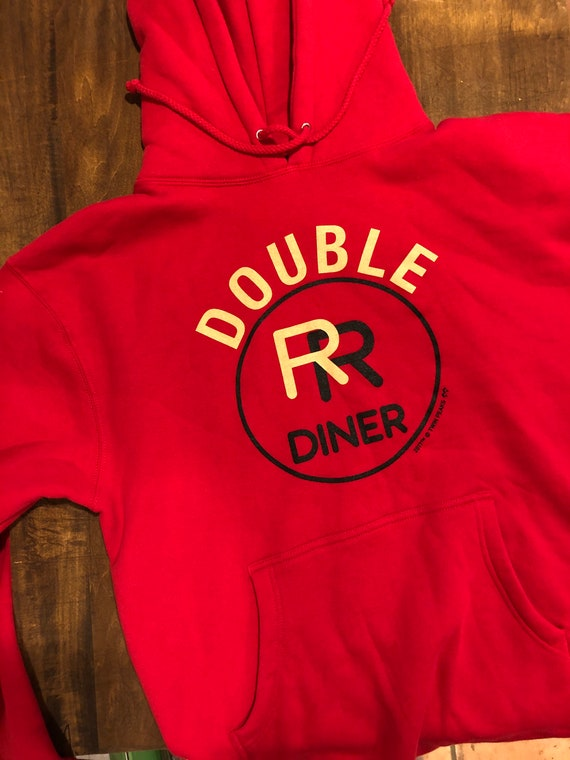 Twin Peaks Double R Diner hoodie. Never worn!