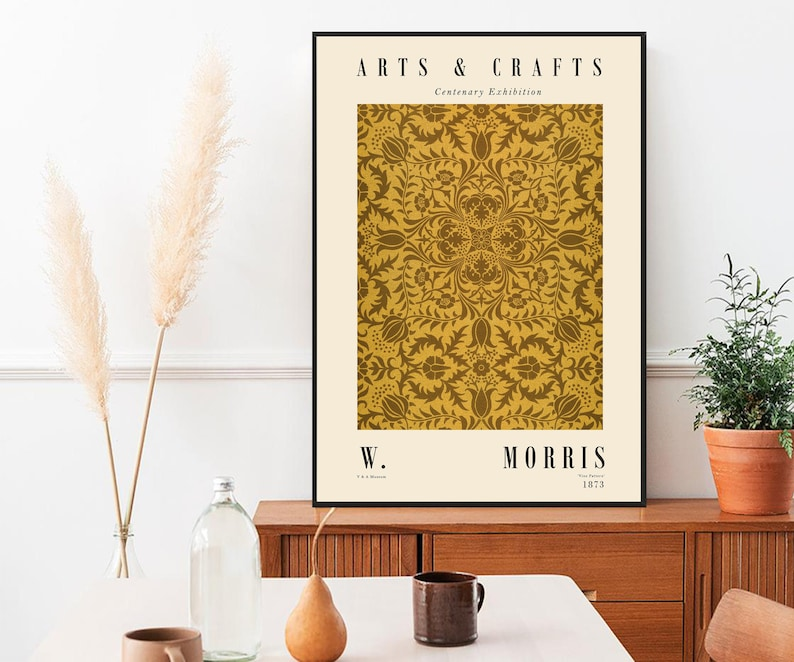 Exhibition Print Tate Modern William Morris Poster Victoria /& Albert Museum William Morris Print Museum ART Poster Museum Poster