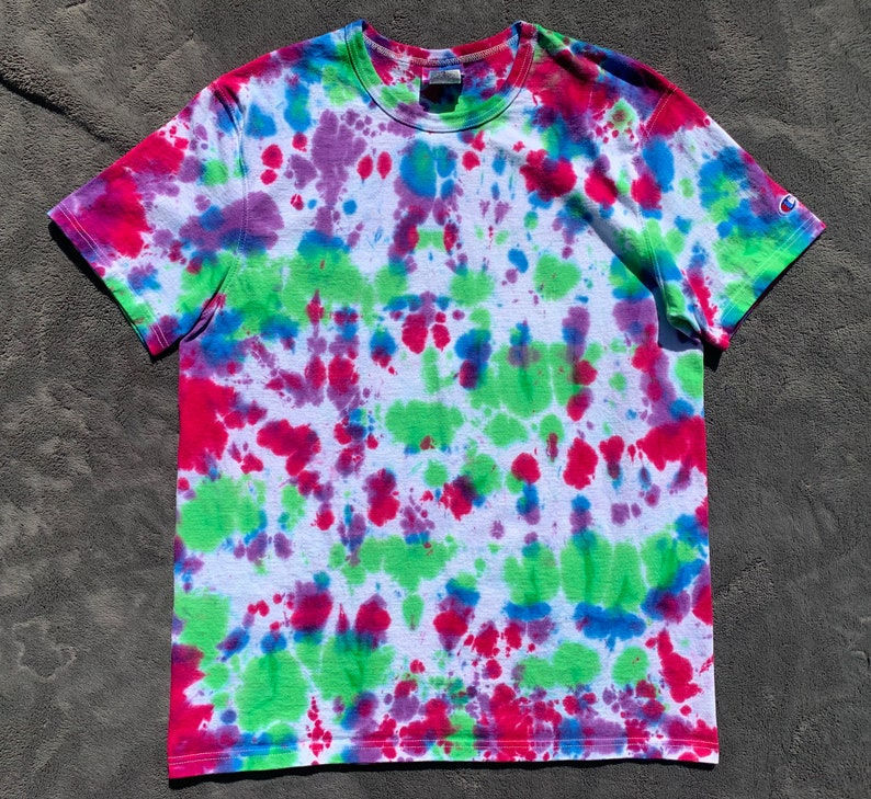 Champion Tie Dyed Men/'s Shirt