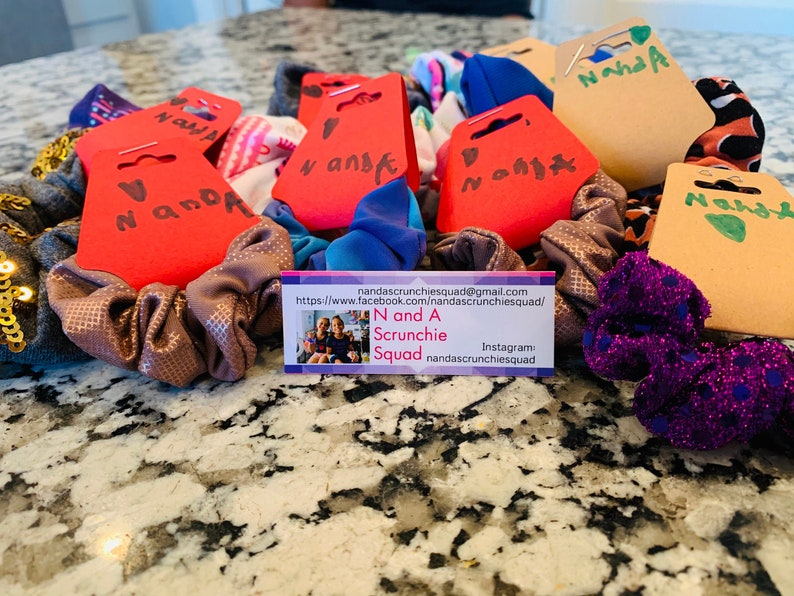 Scrunchie Squad Selection not picky on what scrunchie you get Let N and A pick one for you!