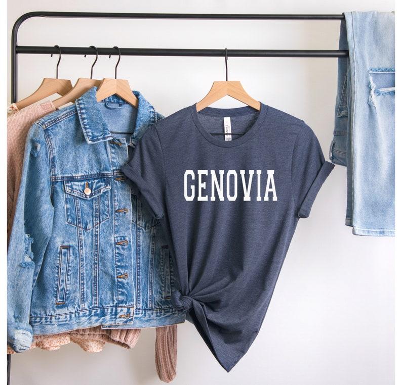 Genovia T-Shirt Princess Diaries Princess Diaries Shirt Unisex Throwback Princess Diaries Apparel GENOVIA TEE