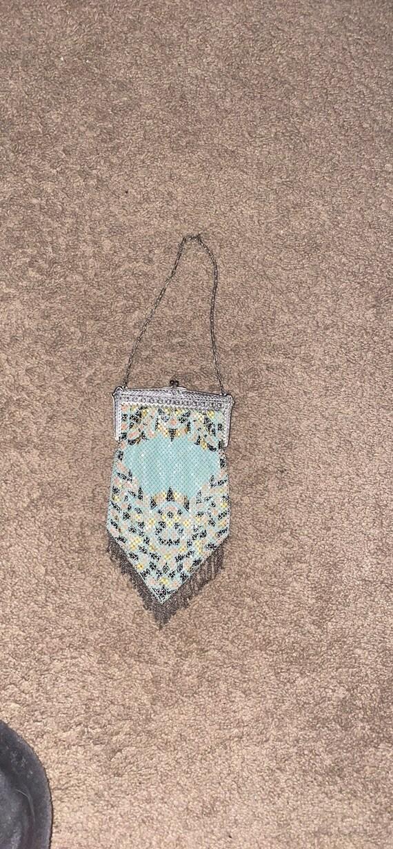 Vintage Mandalian Mesh 1920's Flapper Handbag - image 4