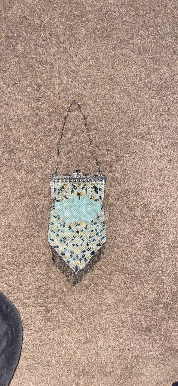 Vintage Mandalian Mesh 1920's Flapper Handbag