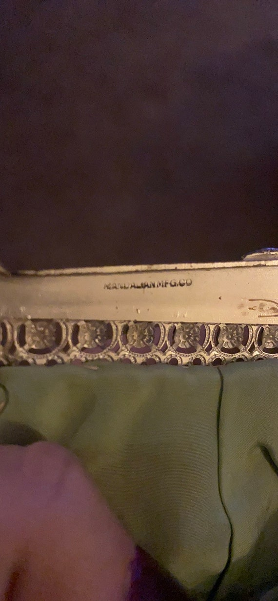 Vintage Mandalian Mesh 1920's Flapper Handbag - image 2