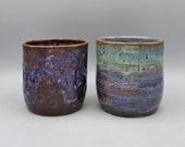 Handmade Ceramic Pot, Utensil Pot, Indoor Plant Pot, Pencil Pot, Pen Pot, Cutlery Pot, Pot, by Kingates Pottery on the Isle of Wight