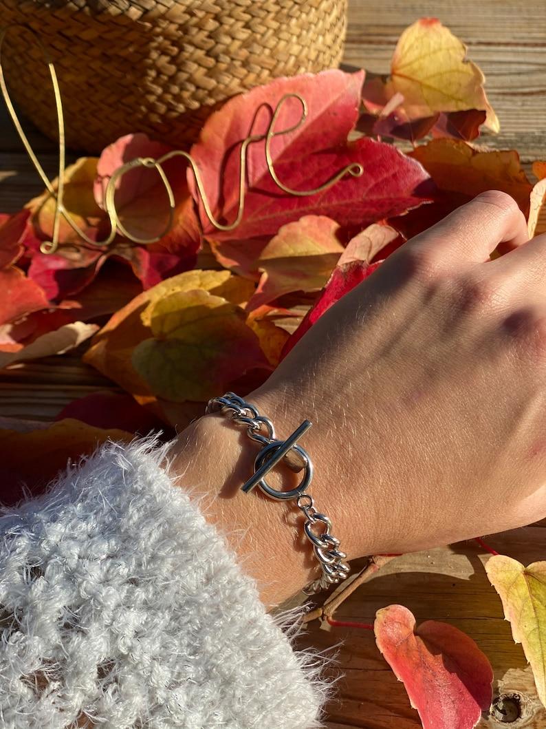 stainless steel Deborah bracelet