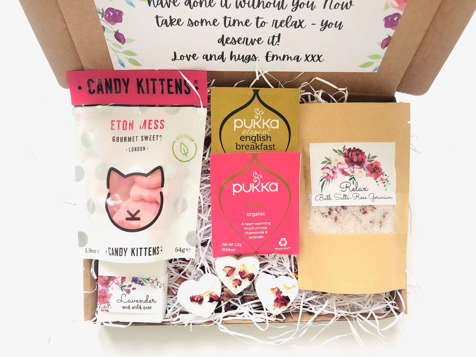 Care package letterbox gift