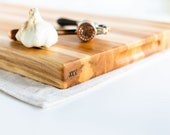 maple edge grain cutting board XXV
