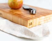 maple end grain cutting board XVIII