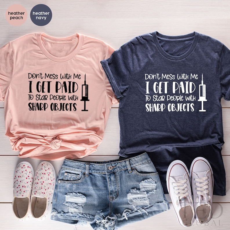 Gearhuman –  Funny Nurse TShirt Nursing Shirts Nurse Quote Shirt Funny – 3D Tshirt – TH-0107