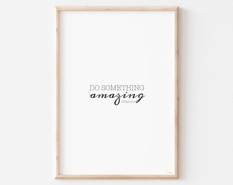 Motivational Quotes Prints, Motivational Wall  Decor, Inspirational Wall Art, Minimalist Wall Art Quote,  Instant Download