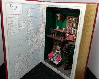 Art Book lodge diorama