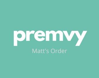 Matt's Order