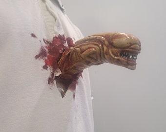 Alien Chestburster chest mount