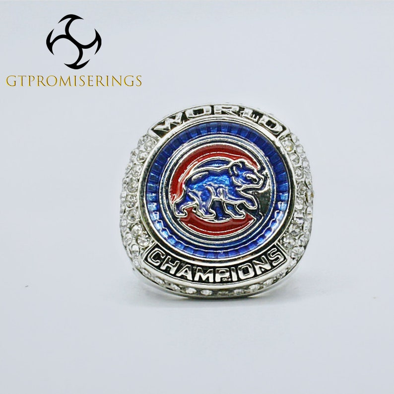 2016 Chicago Cubs Fans Boy Friend Major League Baseball Championship Rings Gift Package Free Fast Shipping Best Gifts for Father
