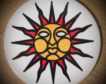 The Wicker Man Sun Goddess Ceramic Coaster