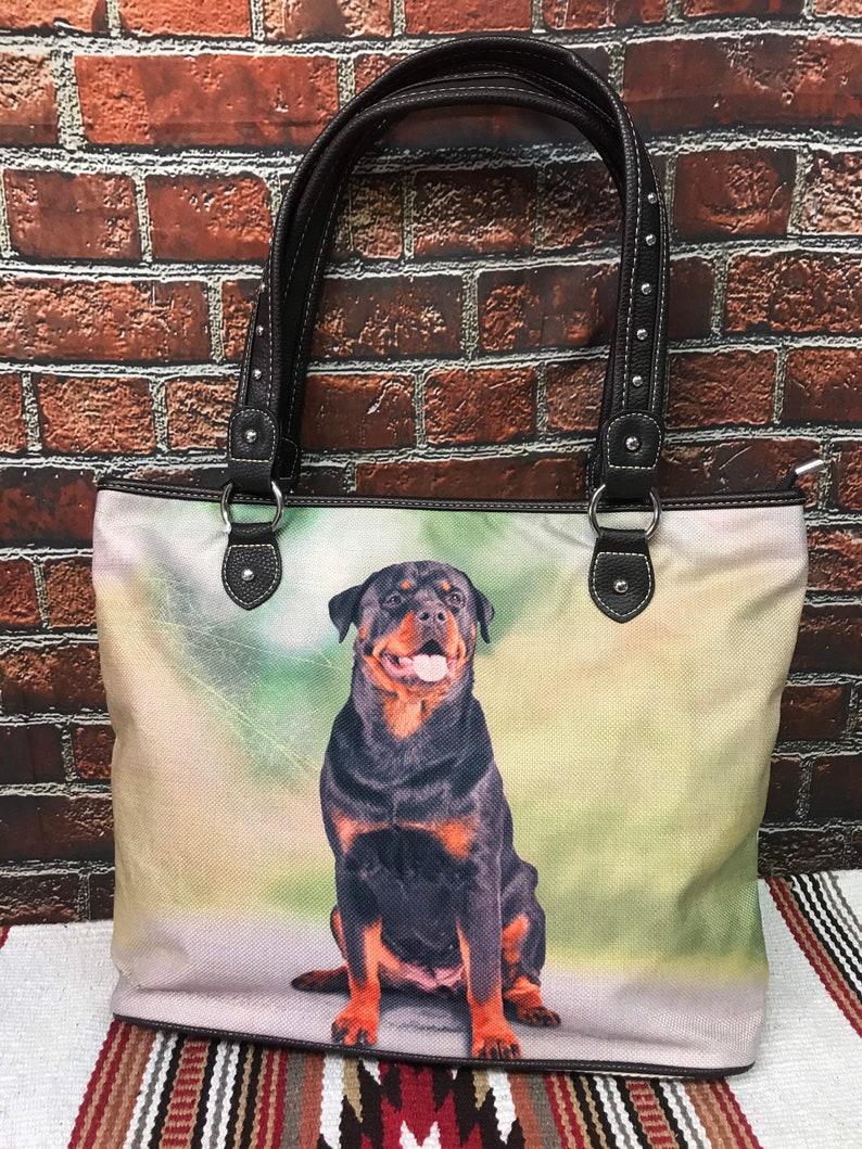Rottweiler Dog Tote Bag