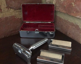 Lenticular Travel Razor Case Vintage  Gift Oriental Razor Case 3D Picture Vintage Oriental Ladies Travel Razor Case