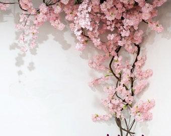 Artificial Cherry Blossom Tree Etsy