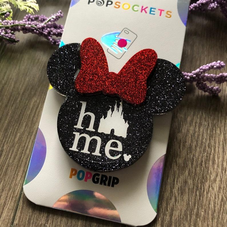Disney Home Phone Grip  Disney Castle Phone Grip  Badge Reel
