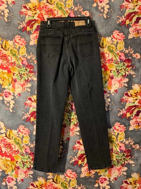 Black Lee Riders Mom Jeans - image 2