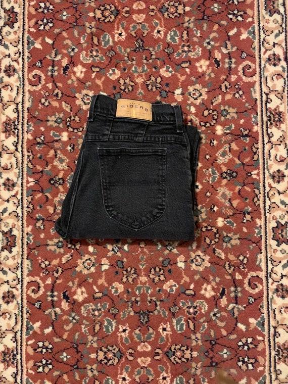 Black Lee Riders Mom Jeans - image 3