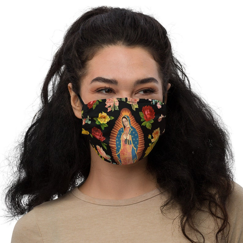 Our Lady of Guadalupe Face Mask / Guadalupe / Face Mask / Our image 0