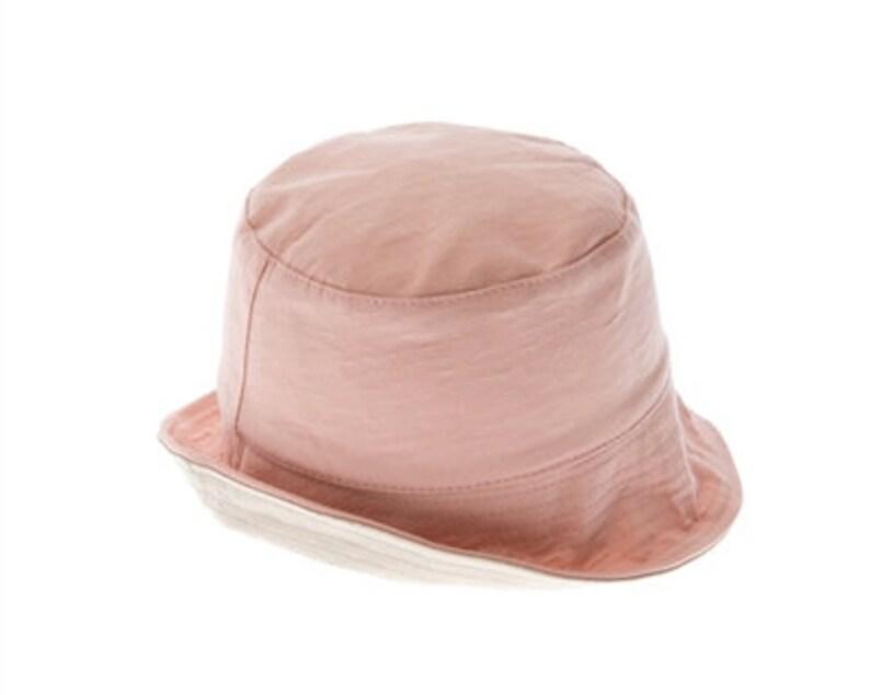 Child/'s reversible cotton bucket hat