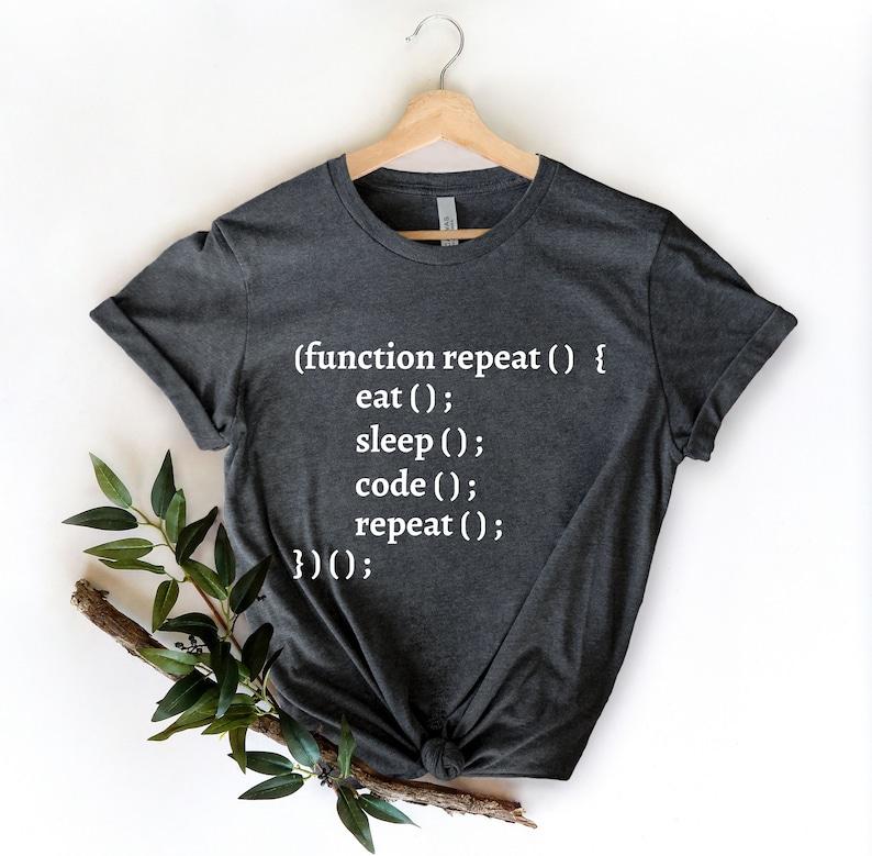Computer Geek Shirt Computer Shirt Software Engineer Shirt Hacker Function Repeat Coding Shirt Computer Nerd Gift Programmer Shirt