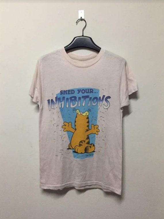70s Garfield Cat Cartoon T-shirt