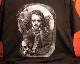 Edgar Allan Poe Graphic Tee