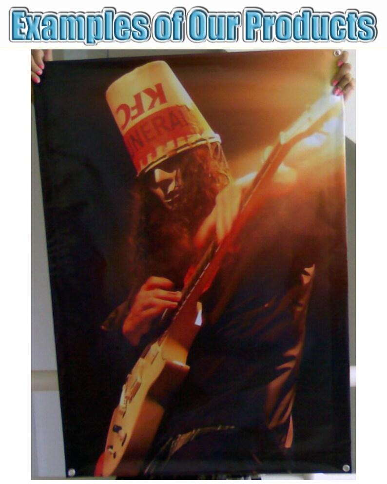 New RIVERS CUOMO WEEZER Vinyl Banner Poster 27x39