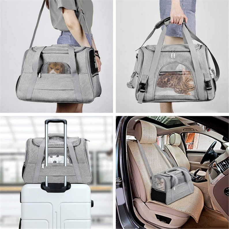 Cat Carrier Bags Portable Pet Cat Dog Backpack Breathable Cat Carrier Bag For Cats Small Dog
