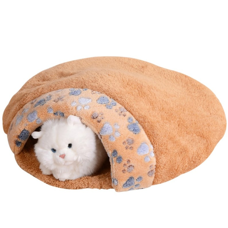 Pet Products Warm Soft Flannels Cat House Pet Mats Sleeping Bag Lovely Hamburger Puppy Cushion Rabbit Bed Dog Kennel Cat Bed
