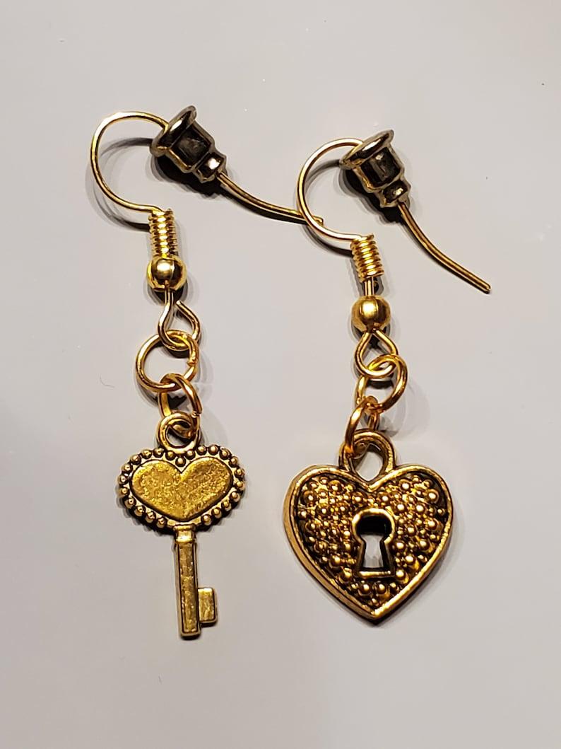 Key To The Heart Earrings