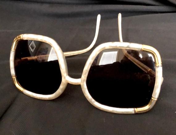 1970s Ted Lapidus vintage sunglasses