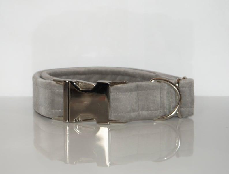 | Luxury Dog Collar Velvet Dog Collar
