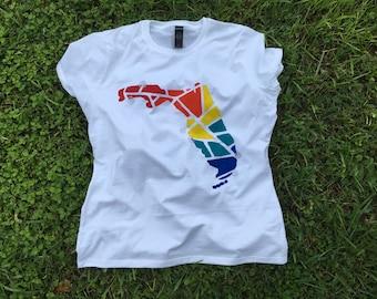 Maryland State Shirt Kentucky T-Shirt Maine Ladies T Shirt Custom Iowa T-Shirts Personalized Ladies State Shirts Louisiana Tee