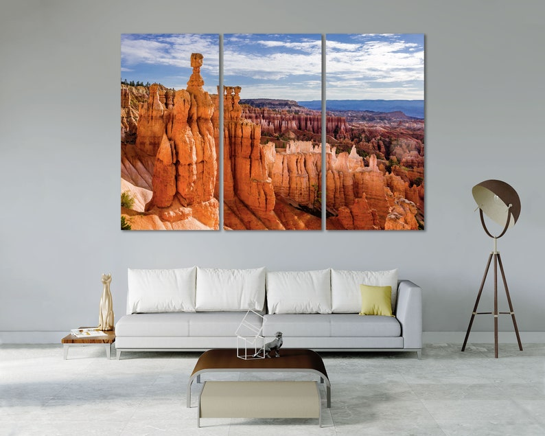 Bryce Canyon National Park Beautiful Art for Home Bryce Canyon Park Art Print on Canvas Bryce Canyon National Park in state Utah Artwork
