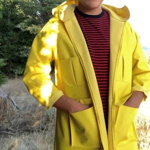 Coraline Raincoat Costume For Girls Coraline Coat Coraline Etsy