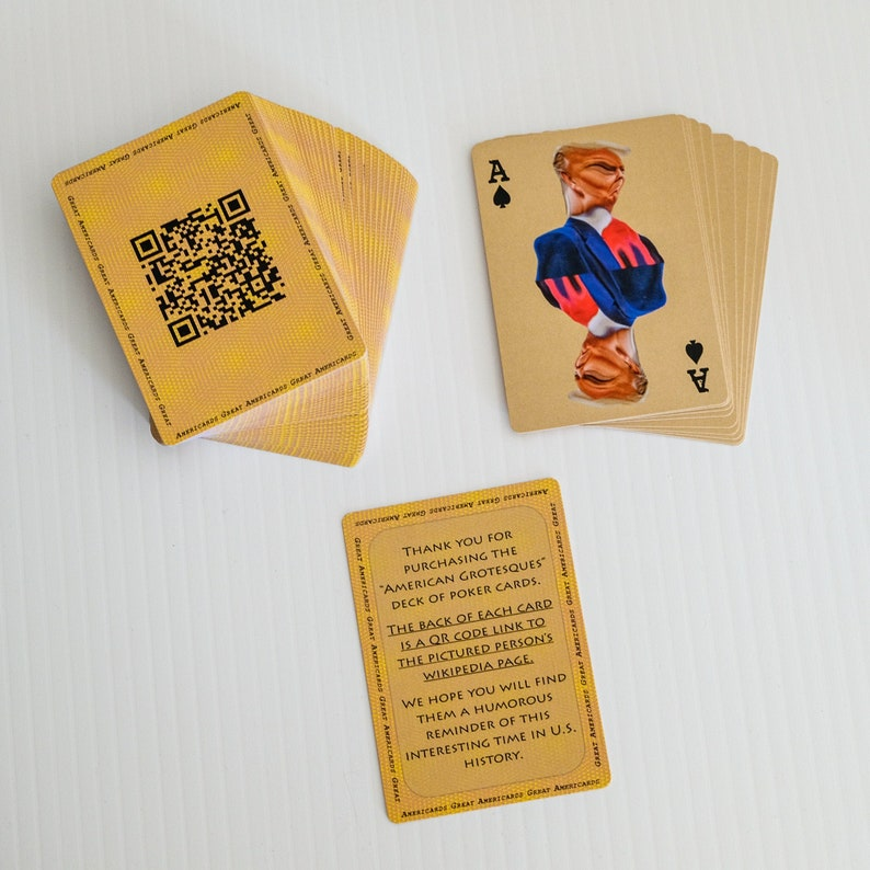 American Grotesque Playing Cards image 0