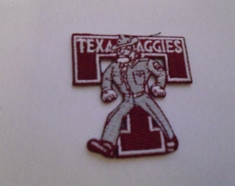 Texas Aggies Embroidered iron on patch