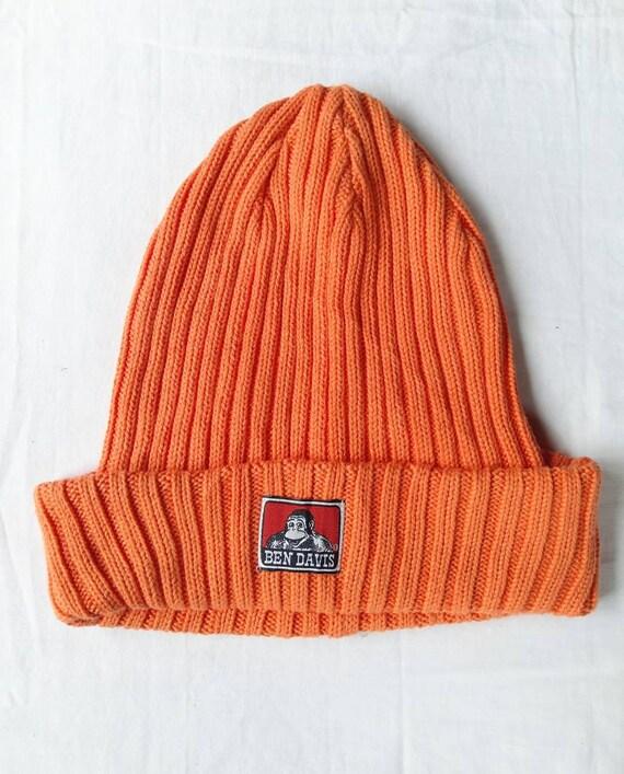 Vintage Ben Davis Knitwear Beanie Hat