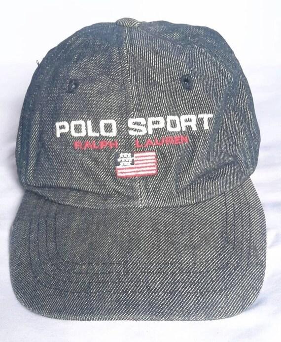 Vintage Polo Sport Ralph Lauren Cap Hat