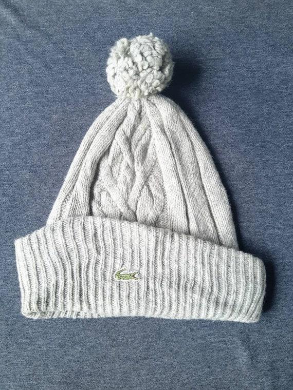 Vintage Lacoste Winter Beanie Hat
