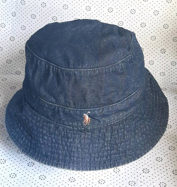 Vintage Polo Ralph Lauren Denim Bucket Hat